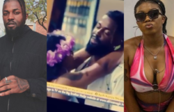BBNaija: Michael Shuts Angel Down After She Tried To Seduce Him At Last Night's Party (Video)